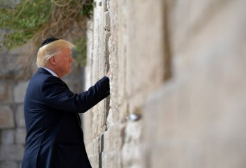 US President Donald Trump visits Israel and the Palestinian Territories