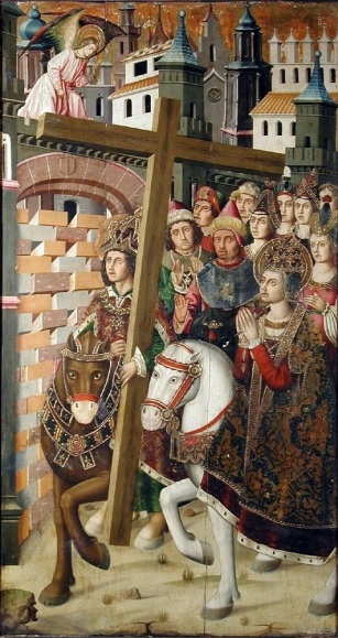 Bernat,_Martin_Saint_Helena_&_Heraclius_taking_the_Holy_Cross_to_Jerusalem