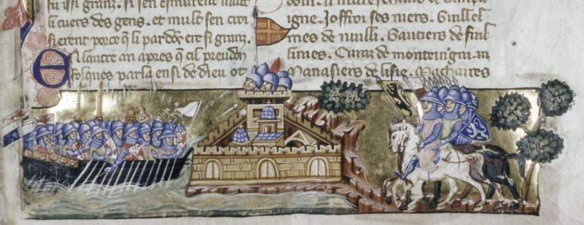 Crusaders_attack_Constantinople